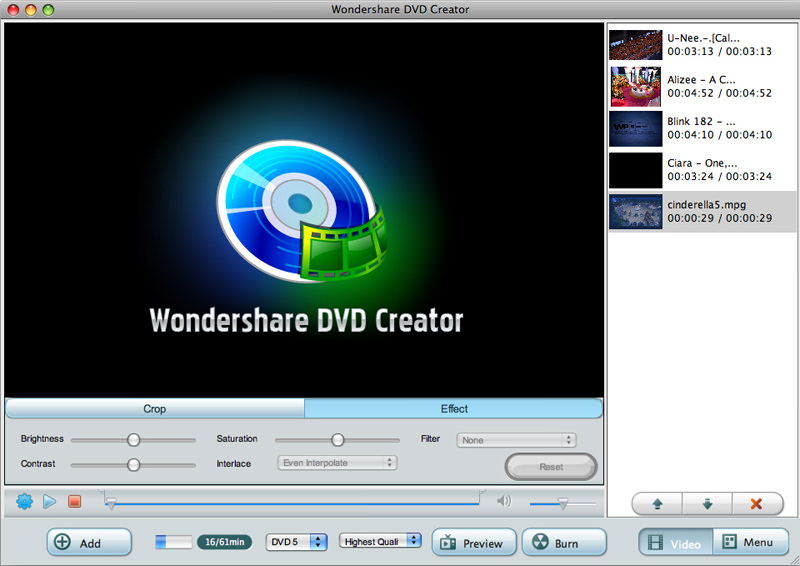 Wondershare DVD Creator for Mac picture