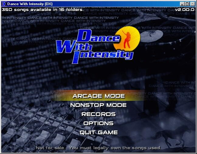 Dance With Intensity picture or screenshot