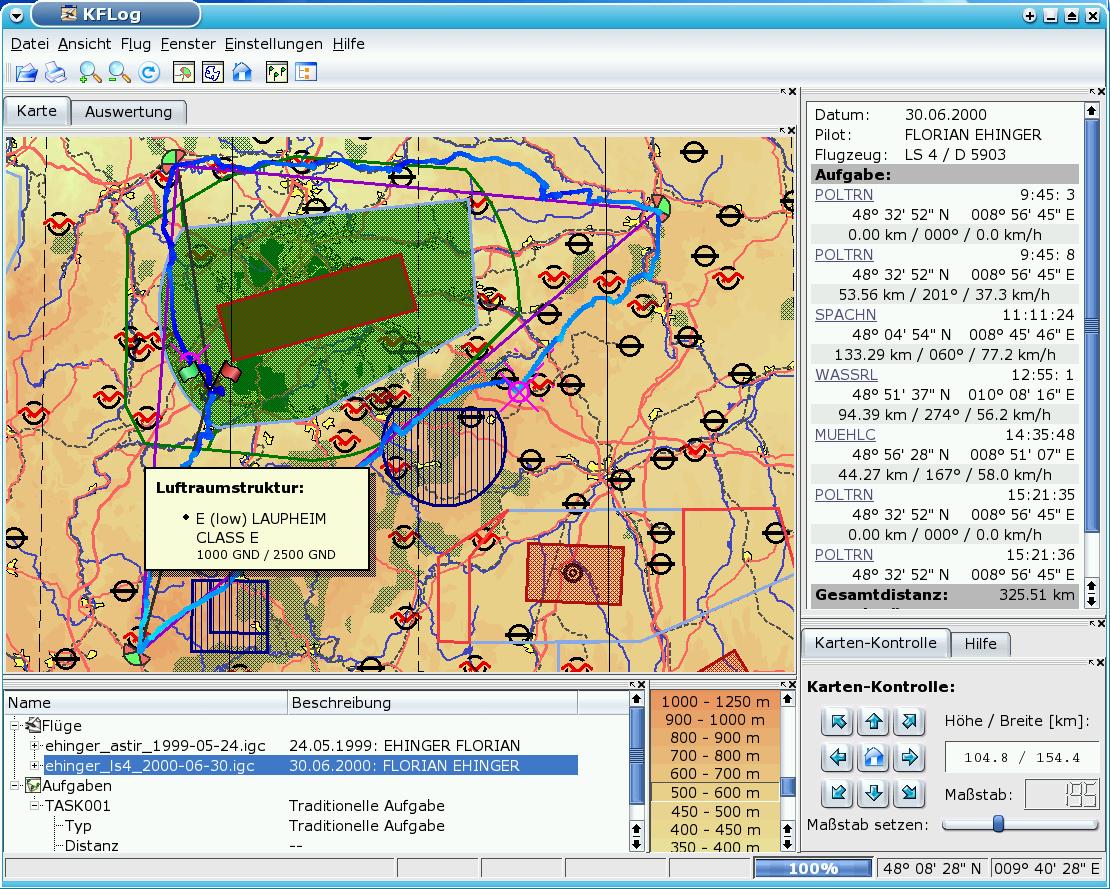 KFLog picture or screenshot