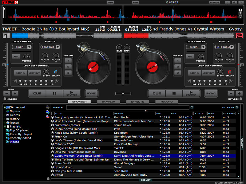 VirtualDJ picture