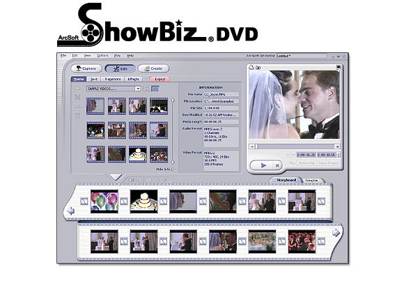 ArcSoft ShowBiz picture or screenshot
