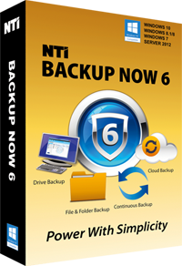 NTI Backup Now picture or screenshot