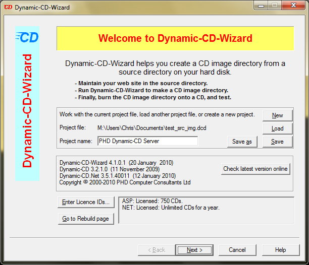 Dynamic-CD picture or screenshot