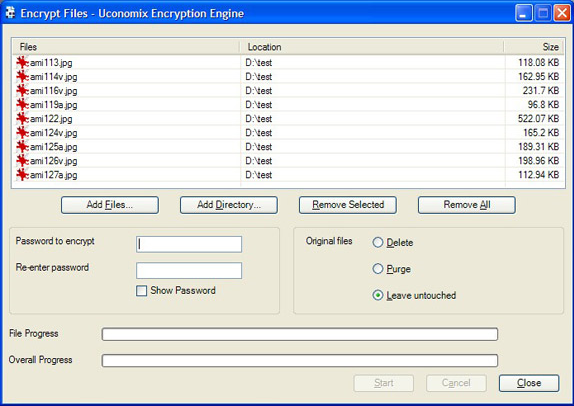 Uconomix Encryption Engine picture or screenshot