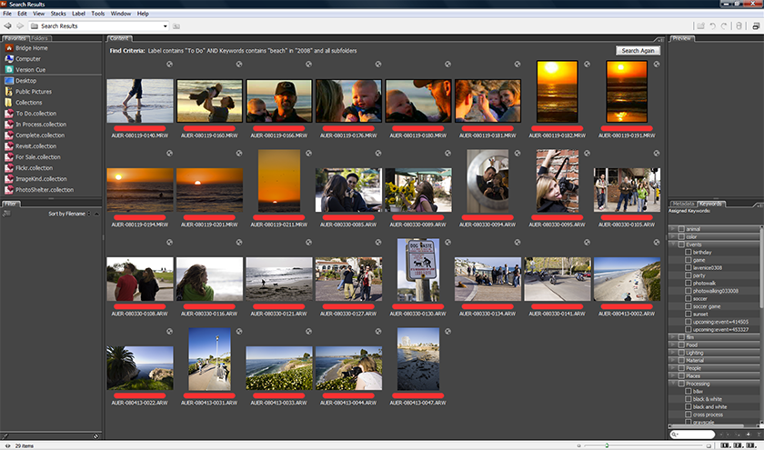 для чего Adobe Bridge - фото 2