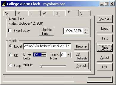 College Alarm Clock picture or screenshot