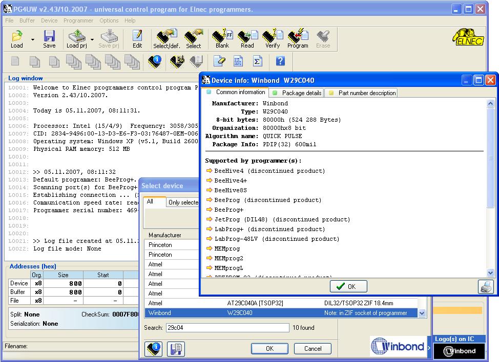 PG4UW picture or screenshot