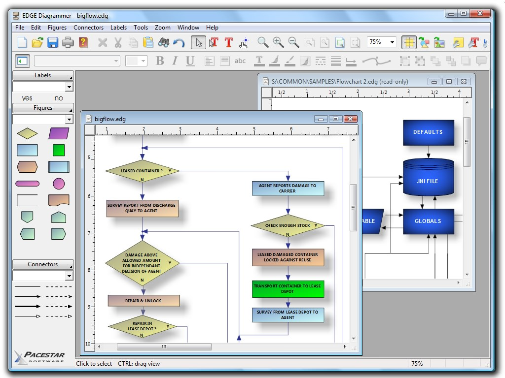 EDGE Diagrammer picture or screenshot