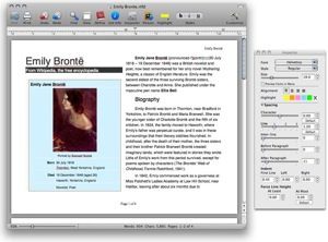 Bean Word Processor picture or screenshot