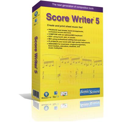 Score Writer picture or screenshot