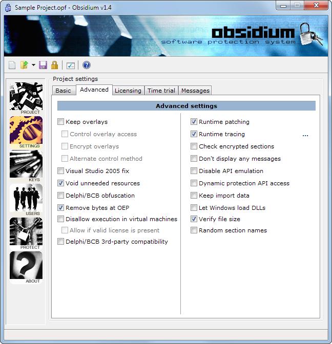 Obsidium picture or screenshot