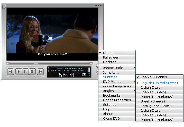 Cliprex DVD Player picture or screenshot