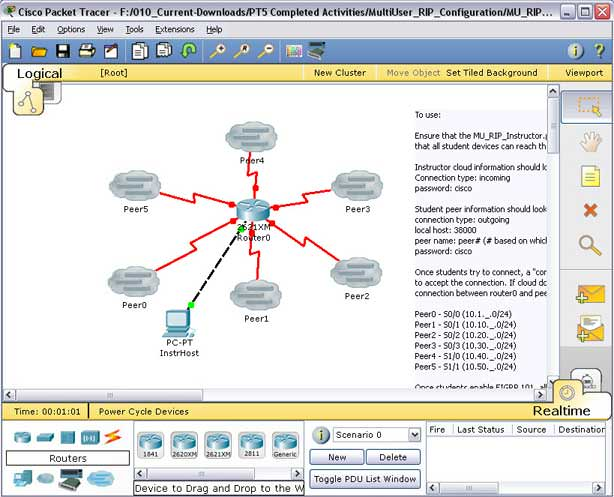 Packet Tracer picture