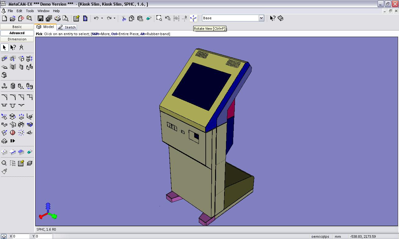 MetaCAM picture or screenshot