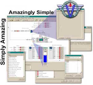 V+ Visual Programming Environment picture or screenshot
