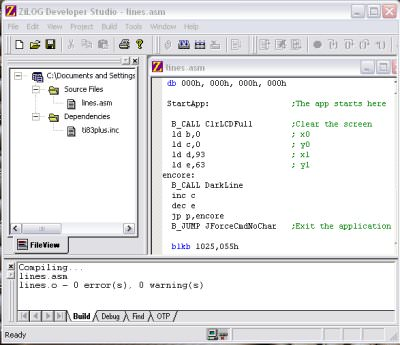 ZiLOG Developer Studio picture or screenshot
