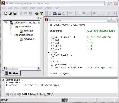 ZiLOG Developer Studio picture or screenshot