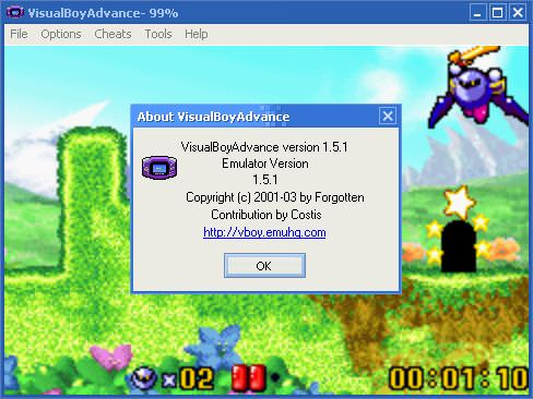 Visual Boy Advance picture or screenshot