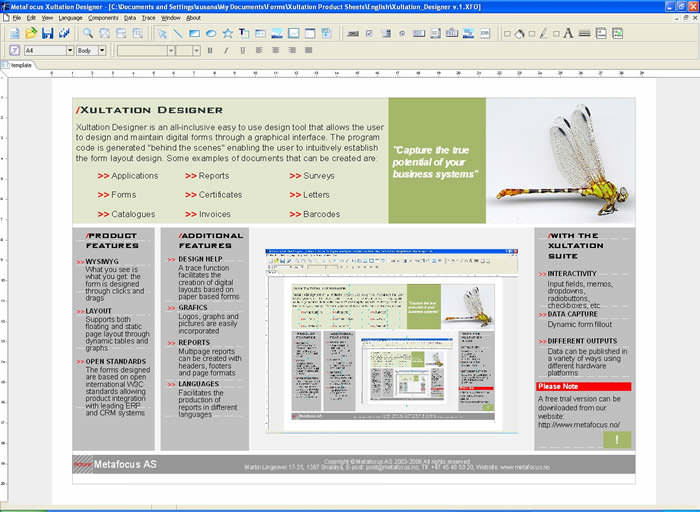 Digiform Document Designer picture