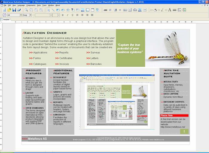 Digiform Document Designer picture or screenshot