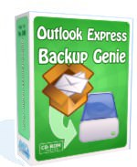 Outlook Express Backup Genie picture or screenshot