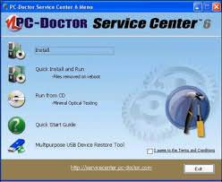 PC-Doctor Service Center picture or screenshot