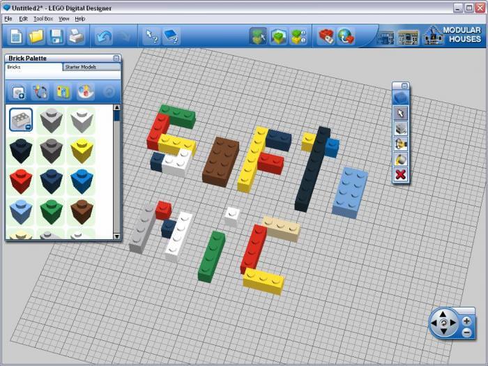 LEGO Digital Designer picture or screenshot