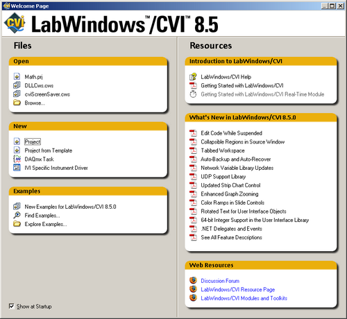 LabWindows picture or screenshot