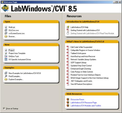 LabWindows picture or screenshot