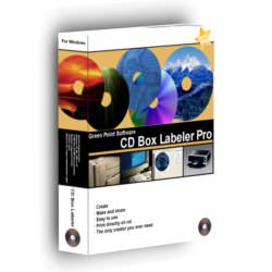 CD Box Labeler Pro picture or screenshot