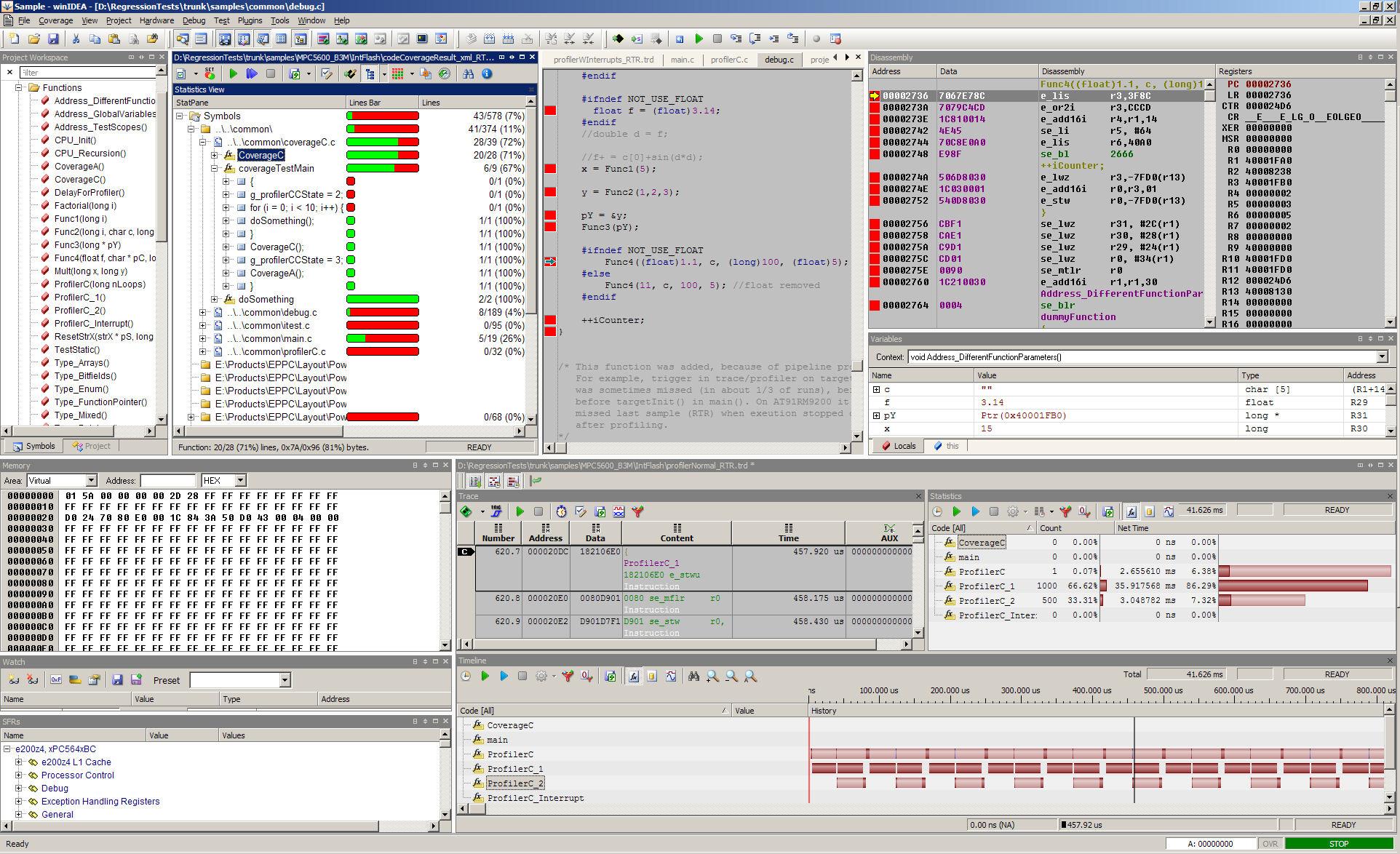 winIDEA picture or screenshot