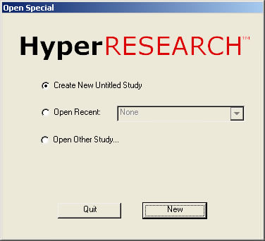HyperRESEARCH picture or screenshot