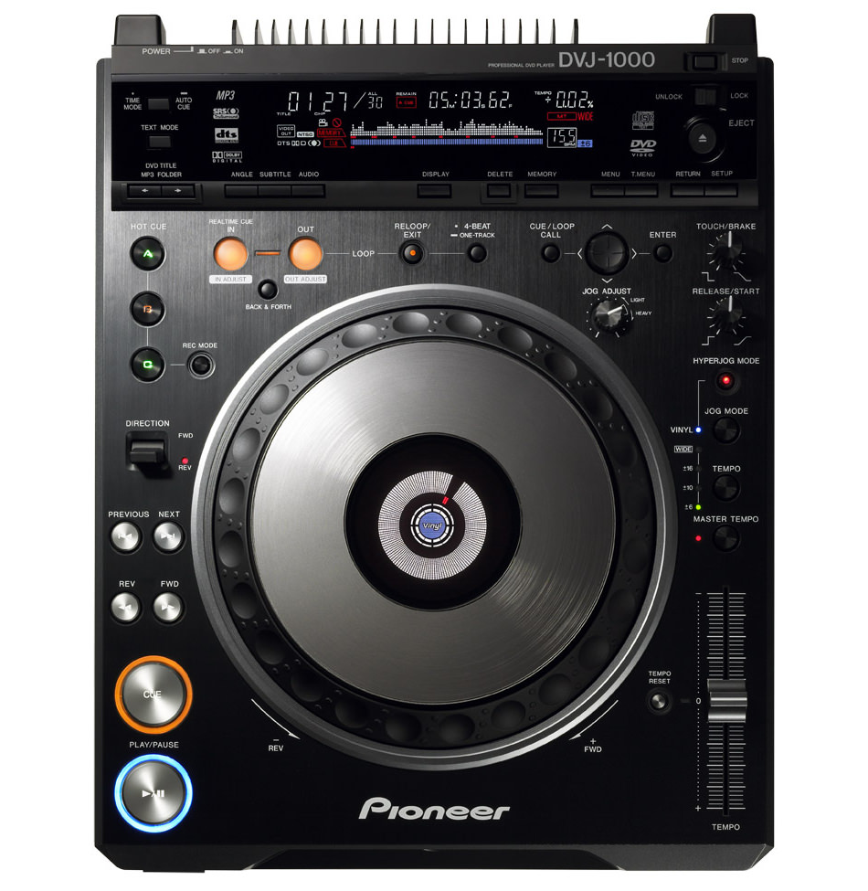 Pioneer DVJ-1000 picture or screenshot