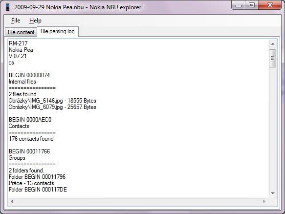 Nokia NbuExplorer picture