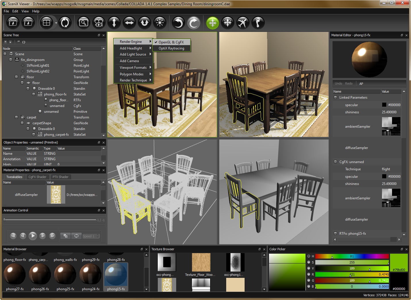NVIDIA SceniX picture or screenshot