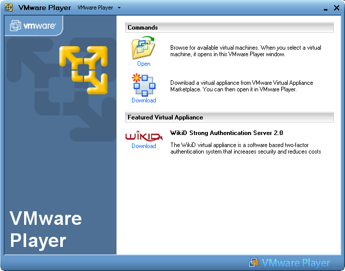 VMware Player picture