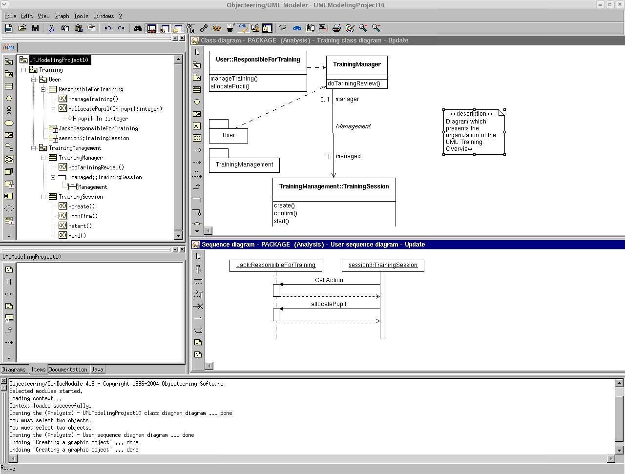 Objecteering UML Free Edition picture