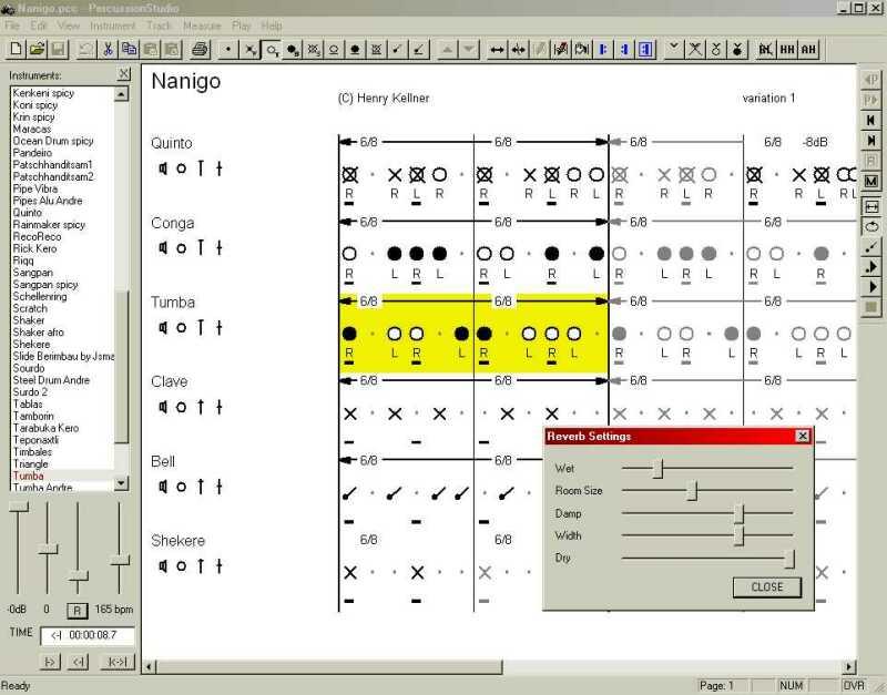 Percussion Studio picture or screenshot