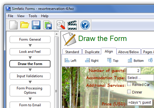 Simfatic Forms picture or screenshot