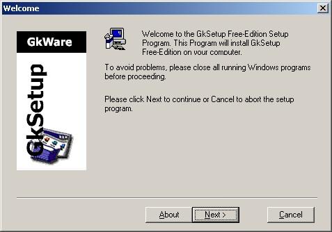 GKSetup picture or screenshot