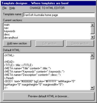 DanTemplate picture or screenshot