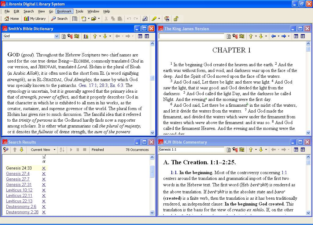 Libronix Digital Library System picture or screenshot