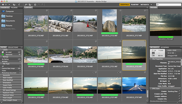 Adobe Bridge for Mac picture
