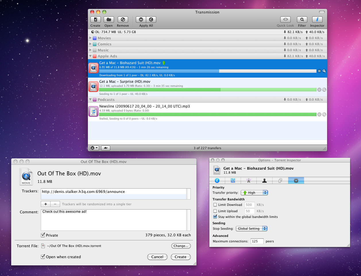 Free BitTorrent Client For Mac OS X: Vuze
