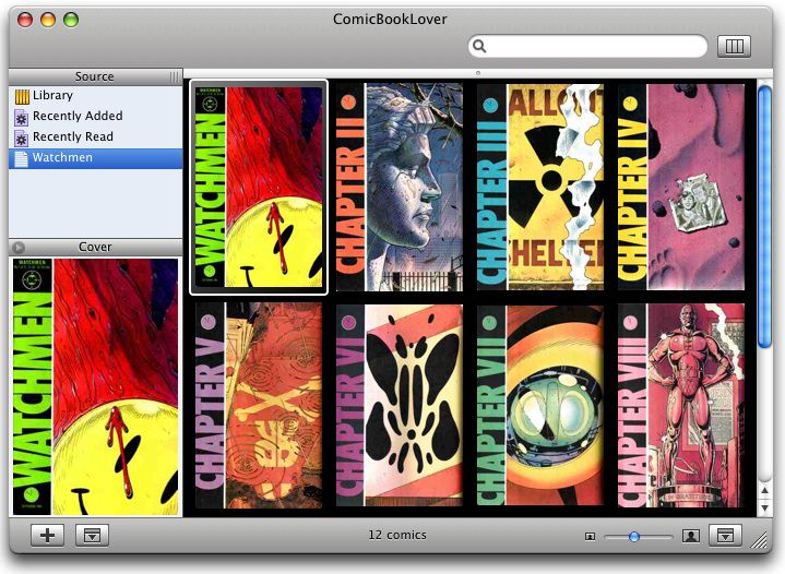 ComicBookLover for Mac OS X picture