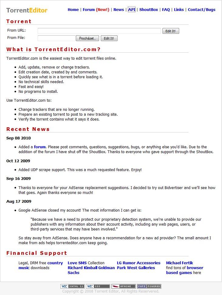 Torrent file editor download veshearttu1982 - Home torrent ...