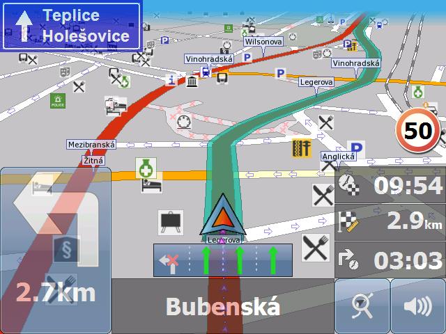 Open mca file - MapFactor GPS navigation data