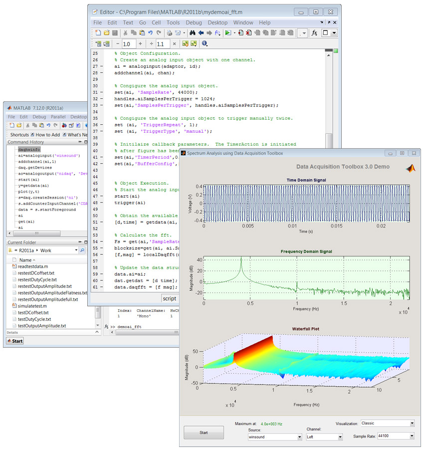 Data Acquisition Toolbox picture or screenshot