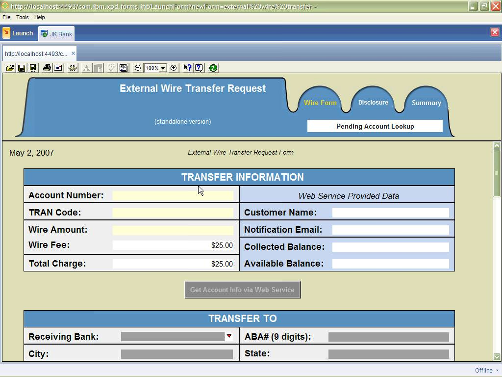 IBM Lotus Forms picture or screenshot