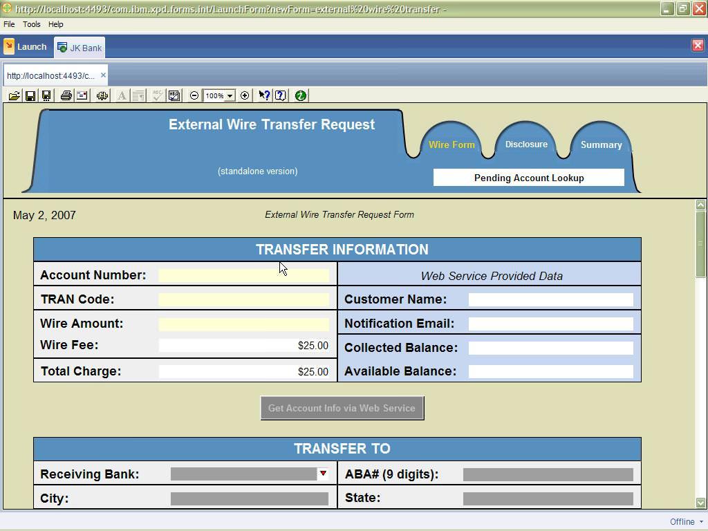 IBM Lotus Forms picture or screenshot
